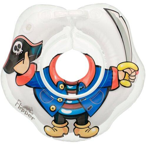 Надувной круг на шею для купания малышей Flipper Пират от ROXY-KIDS недорого