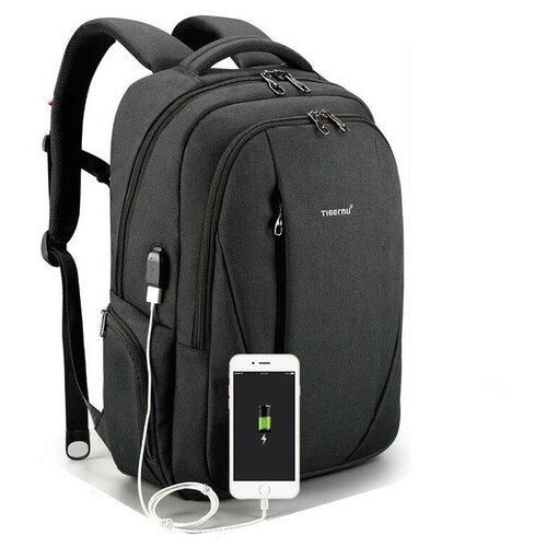 рюкзак женский tatonka magpie для учебы и работы цвет темно серый 17 л Рюкзак Tigernu T-B3399, цвет темно-серый