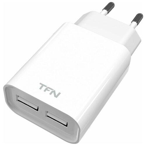 Сетевое зарядное устройство TFN 2.4A* 2USB