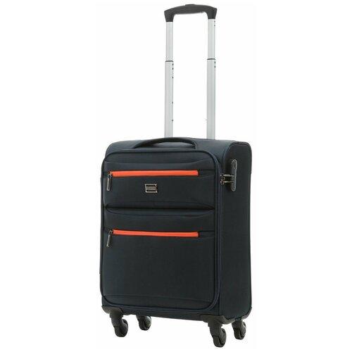 чемодан 55 см samsonite чемодан 55 см popsoda 40x55x20 см Чемодан REDMOND синий размер, Ручная кладь (до 55 см), Артикул SR08L18NV