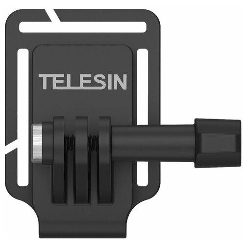 Telesin Клипса-зажим на рюкзак или кепку широкая