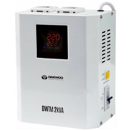 Стабилизатор напряжения однофазный Daewoo Power Products DW-TM2kVA