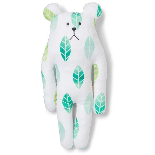 C1596-25 Japan GREENTEA SLOTH, S / Игрушка мягконабивная, изображающая Медведя