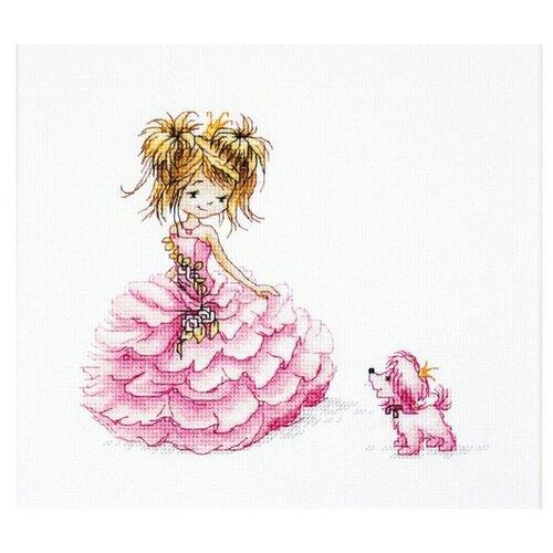 Купить Набор для вышивания «Принцесса», 16x13, 5 см, Luca-S, Наборы для вышивания
