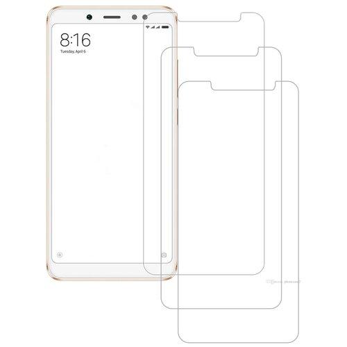 Фото - Защитное стекло Nuobi 0.3mm 9H для Xiaomi Redmi Note 5/Note 5 Pro (Анти-отпечаток) (Прозрачный (3 шт)) защитное стекло glass 0 3mm 9h для xiaomi redmi note 5 белый