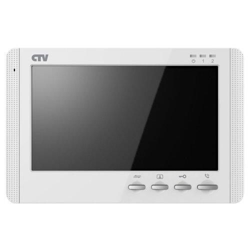 Видеодомофон CTV CTV-M1704MD W 10-0000353