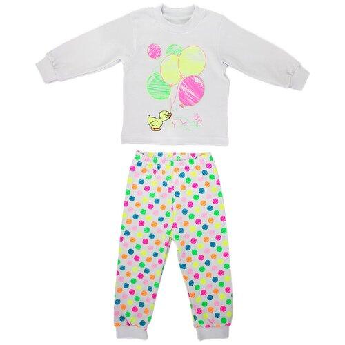 Пижама LEO размер 86, белый пижама double trouble белый оранжевый 86 размер