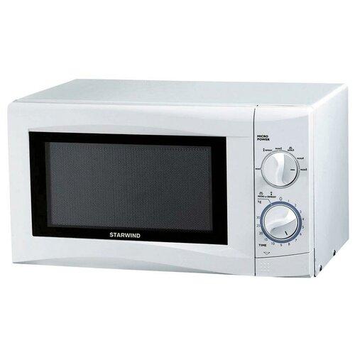 Микроволновая печь Starwind SMW3220, 20л, механическое управление, белая, цена за штуку, 311940