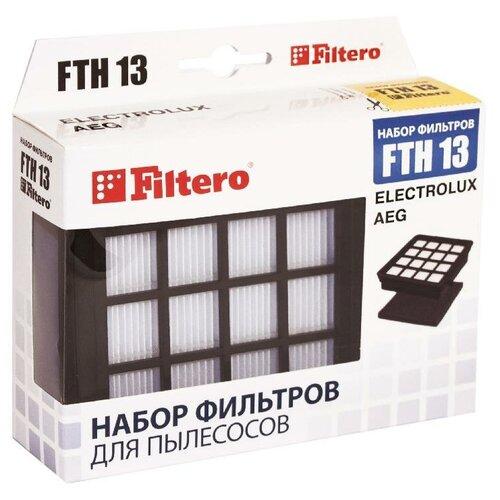 Фото - Filtero Набор фильтров FTH 13 1 шт. набор фильтров filtero fth 24 bsh hepa