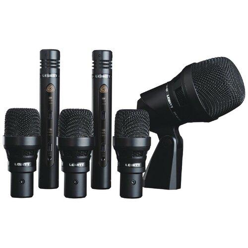 Комплект микрофонов LEWITT DTP Beat Kit 6, черный