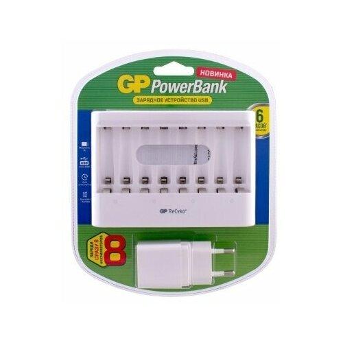 Фото - Зарядное устройство для аккумуляторов GPU811GS-2CR1 зарядное устройство gp pb320gs 2cr1