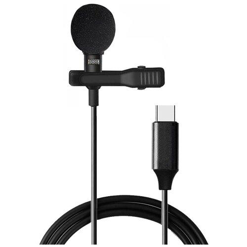 NOIR-audio T1 петличный микрофон с Type-C разъемом