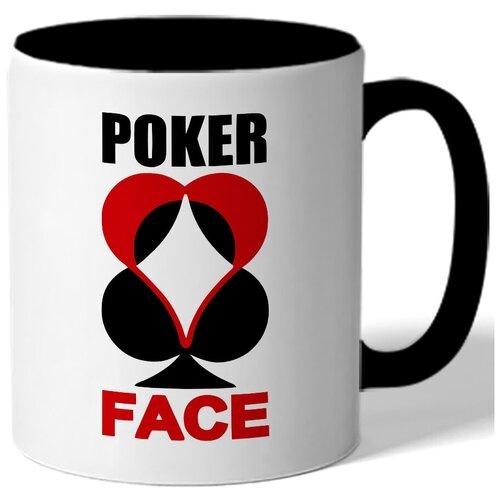 Кружка Poker face , Покер фэйс