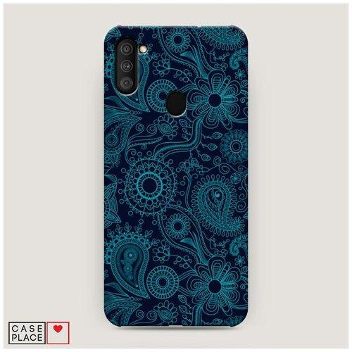 Чехол Пластиковый Samsung Galaxy M11 Турецкие узоры
