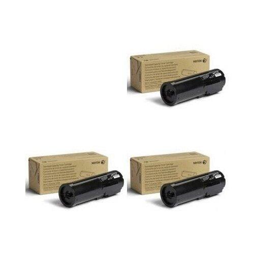 Xerox 106R03581-3PK Картриджи комплектом черный 3 упаковки, стандартный (Standard Capacity) [выгода 3%] Black 17К для VersaLink B400DN B400, B405DN B405 [106R03580]