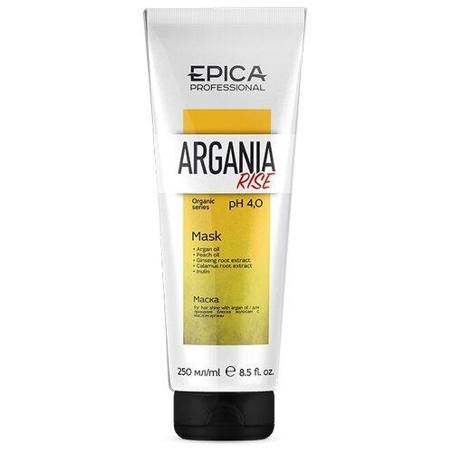 Купить EPICA Argania Rise ORGANIC Маска для придания блеска с маслом арганы, 250 мл., EPICA Professional