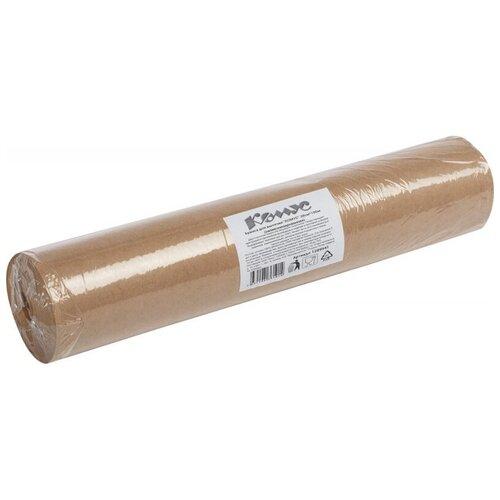 Бумага для выпечки 38смx100м коричневая, комус, силиконизированная
