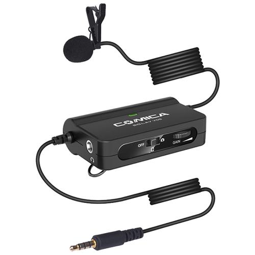 Микрофон петличный Comica CVM-V05 универсальный