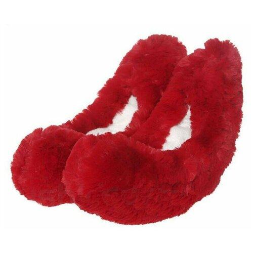 Чехлы-сушки для фигурных коньков MAD GUY красные
