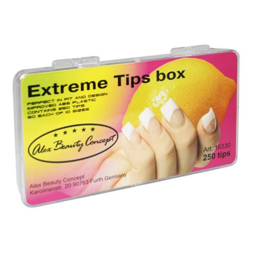 Купить Типсы Alex Beauty Concept EXTRIM TIPS BOX, (250 ШТ)