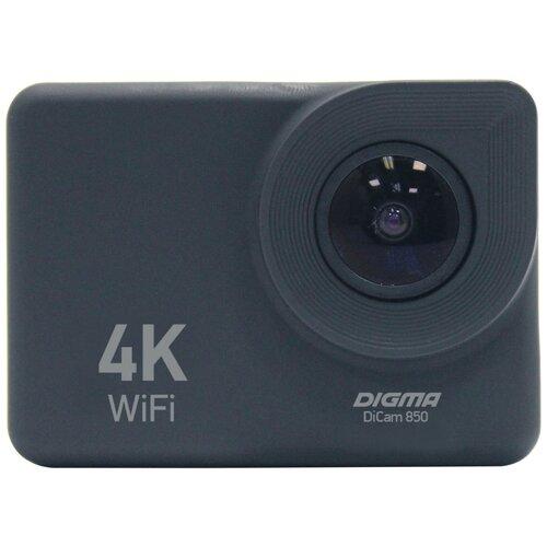Фото - Экшн-камера Digma DiCam 850 черный (DC850) цифровая фоторамка digma pf 922 9 черный [pf922bk]