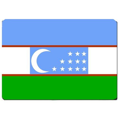 Игровой коврик для мыши флаг Узбекистана