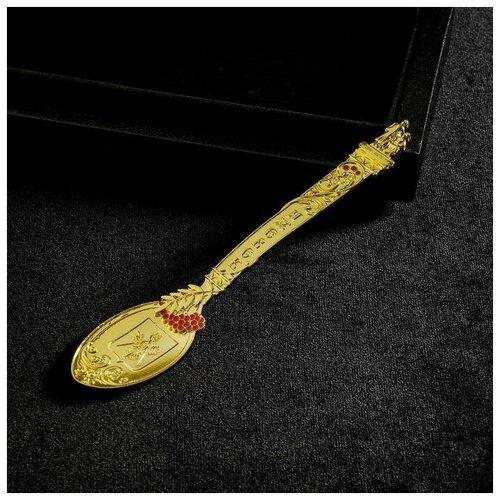 Ложка сувенирная «Ижевск» под золото, 14,6 х 3 см 1607609