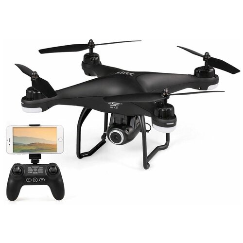 Квадрокоптер - SJRC S20W 5G черный (GPS, камера 1080P, 5G FPV)