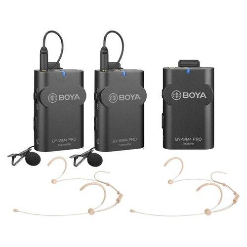 Беспроводной микрофон Boya BY-WM4/HS32 PRO-K2 для смартфонов и камер