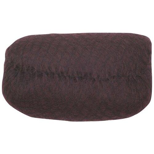 Валик для прически DEWAL, искусственный .волос + сетка, темно-коричневый 18х11см DEWAL MR-HO-PC Dark brown недорого