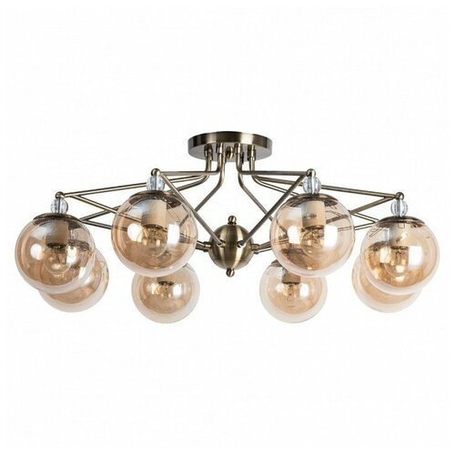 Фото - Потолочная люстра Arte Lamp Enigma A3133PL-8AB люстра arte lamp enigma a3133pl 8ab 320 вт
