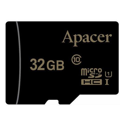 Фото - Карта памяти microSDHC Apacer 32 ГБ Class 10 UHS-I U1 карта памяти microsdxc apacer 64 гб class 10 uhs i u1