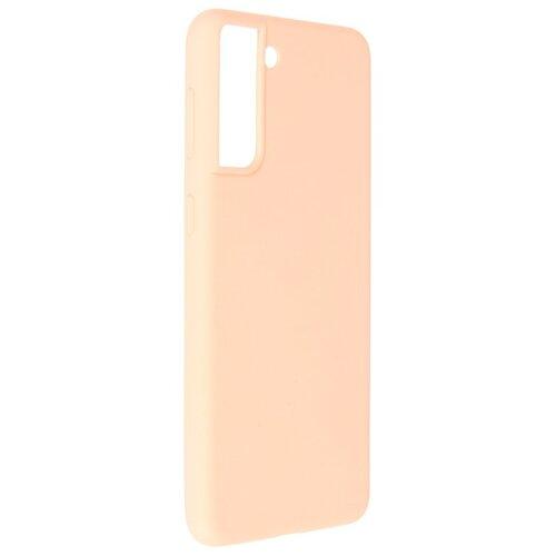 Фото - Чехол Pero для Samsung Galaxy S21 Plus Liquid Silicone Light Pink PCLS-0039-PK чехол pero для samsung s21 plus liquid silicone yellow pcls 0039 yw