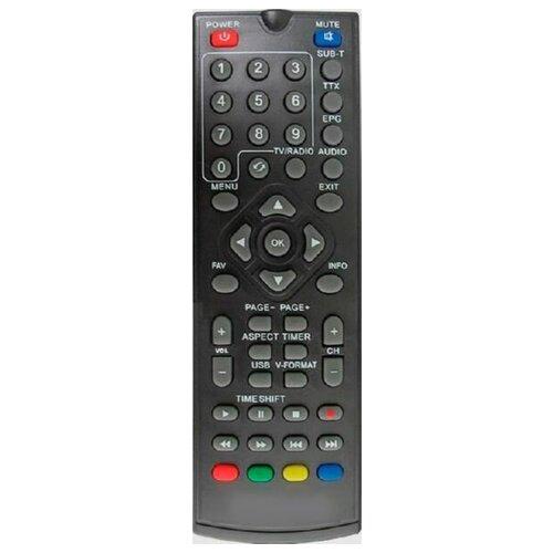 Фото - Пульт DVB-T2 T36, T56 для эфирных ресиверов WORLD VISION пульт huayu wv t40 t43 t53 для dvb ресиверов world vision