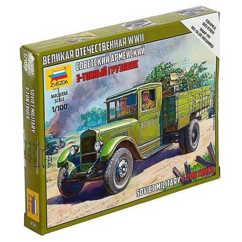Звезда Сборная модель «Советский грузовик ЗИС-5» сборная модель zvezda советский грузовик 4 5 тонны зис 151 3541 1 35