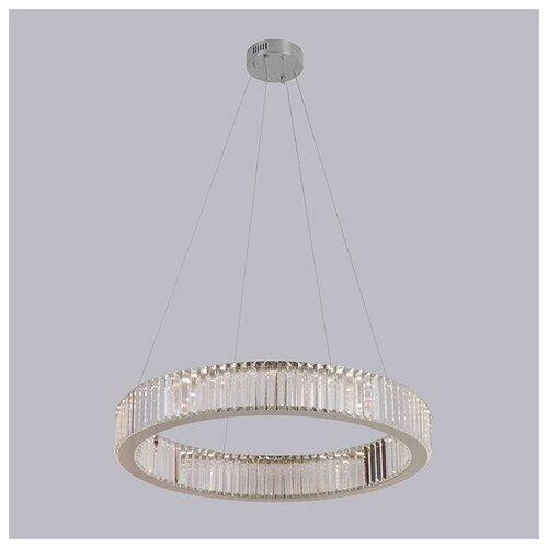 Подвесной светильник хрустальный светодиодный 8441/S chrome (Newport) светильник newport подвесной светодиодный 8441 s gold new m0062812