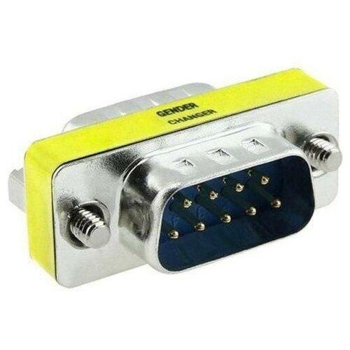 Переходник RS232 9M-9M KS-367 COM порт Gender Changer DB-9pin штекер-штекер недорого