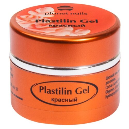 Купить Пластилин planet nails Plastilin Gel красный