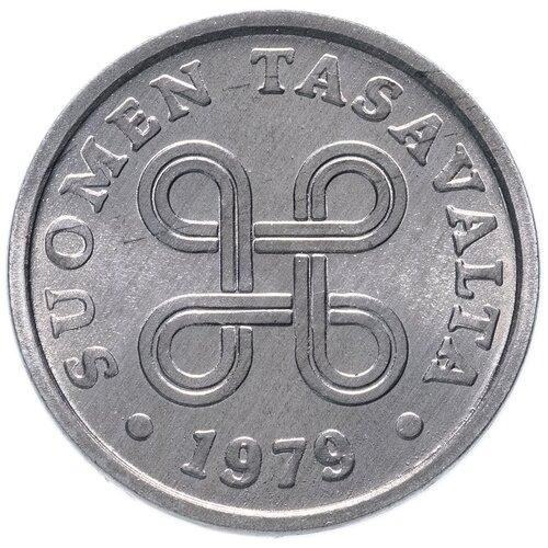 Монета Банк Финляндии 5 пенни 1979 года