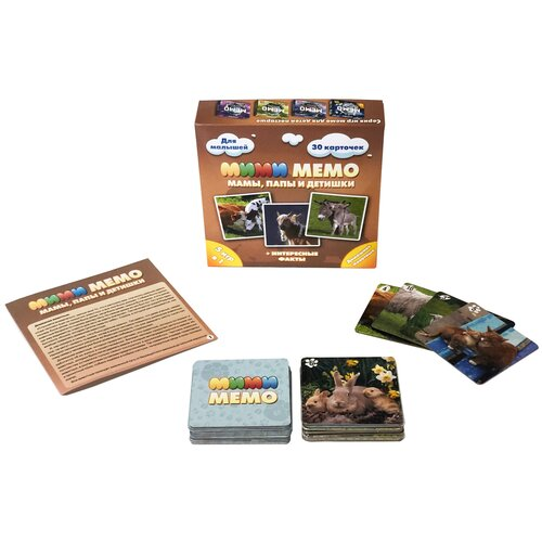 Настольная игра Нескучные игры Мими Мемо Домашние животные недорого