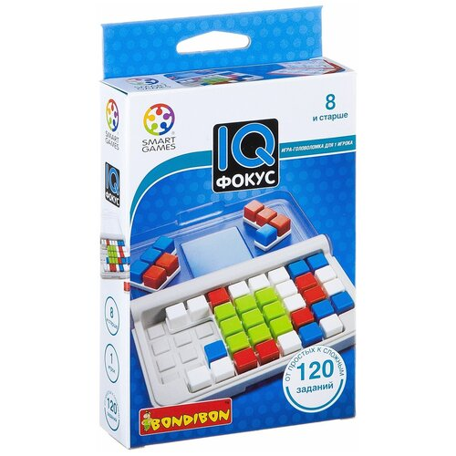 Головоломка BONDIBON Smart Games IQ-Фокус (ВВ2184) головоломка bondibon smart games iq конфетки вв1353