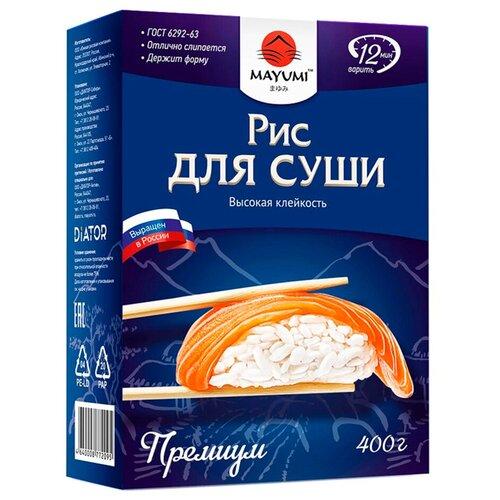Рис MAYUMI Краснодар для суши, 400 г