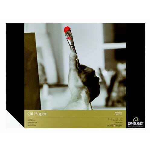 Фото - Альбом для масляных красок Royal Talens Rembrandt 40 х 30 см, 300 г/м², 10 л. альбом для акварели royal talens rembrandt 32 х 24 см 300 г м² 20 л