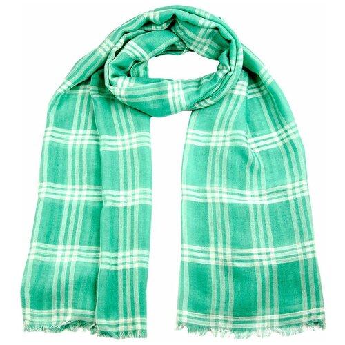 Палантин Vip collection SG2154/55/56/58 100% вискоза зеленый