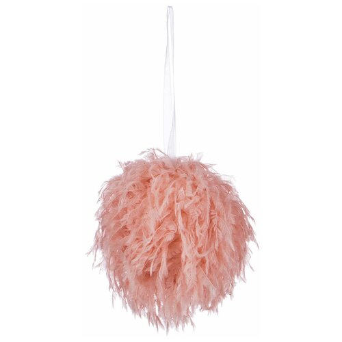 Елочная игрушка Lefard 535-238, розовый