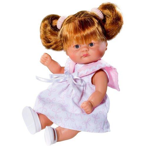 Asi ASI Кукла виниловая Аси (Asi) пупсик в розовом платье (20 см)