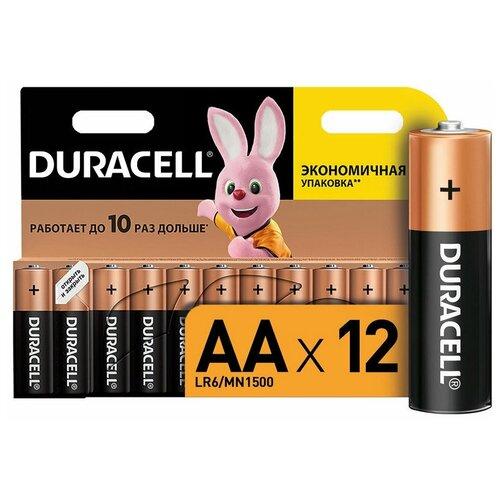 Фото - Батарейки Duracell размера AA 12 шт батарейки duracell размера aa 60 шт