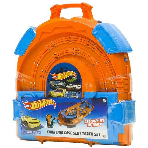 Трек Hot Wheels Carrying case slot track set 83121 launcher track t rex rampage hot wheels