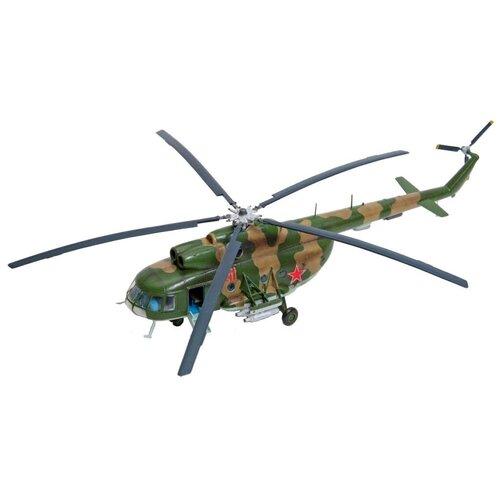 Сборная модель ZVEZDA Советский многоцелевой вертолет Ми-8Т (7230PN) 1:72 сборная модель zvezda российский десантно штурмовой вертолет ми 8мт 7253pn 1 72