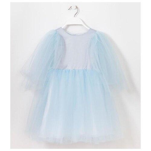 Платье Minaku размер 110, светло-голубой